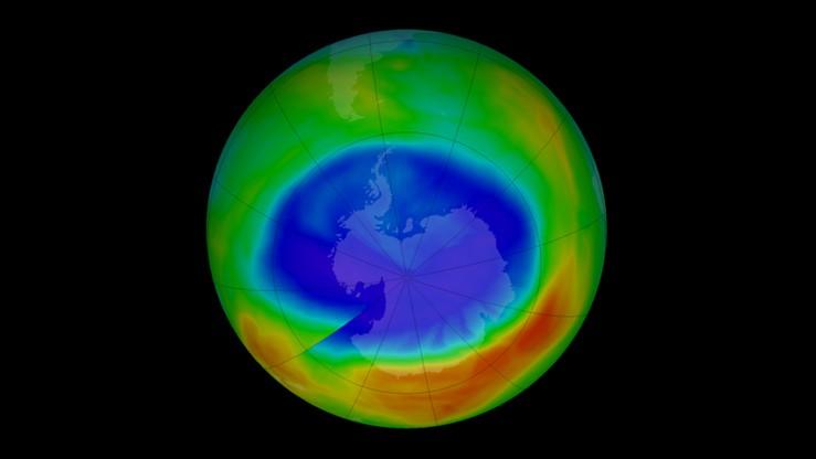 Dziura ozonowa nad biegunem południowym najmniejsza od 30 lat