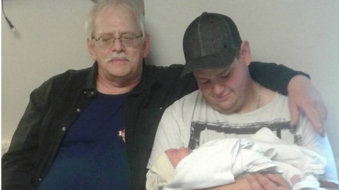 Dziadek, syn i wnuczek świętowali urodziny tego samego dnia