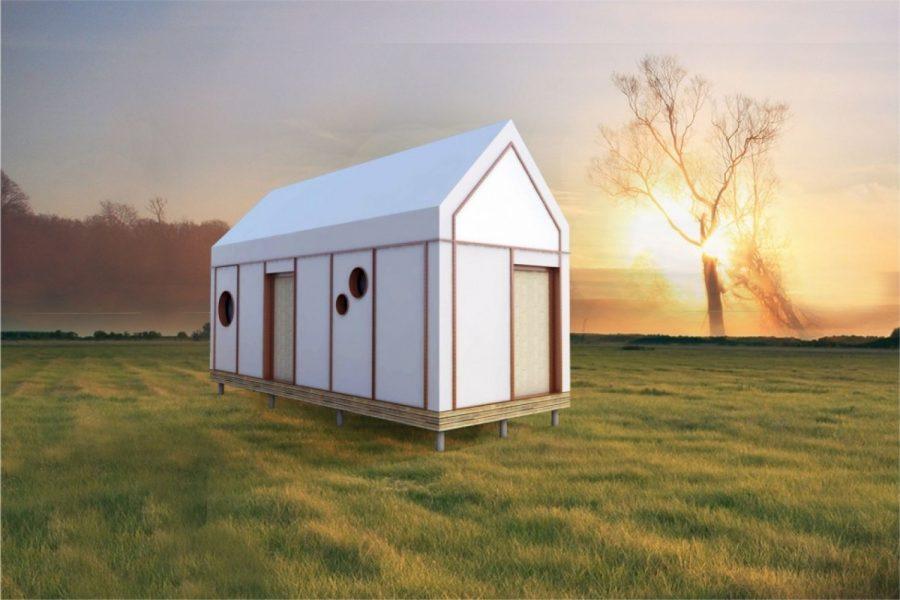 Dom z papieru kosztuje ok. 25 tys. złotych. Będzie alternatywą dla tradycyjnego budownictwa?