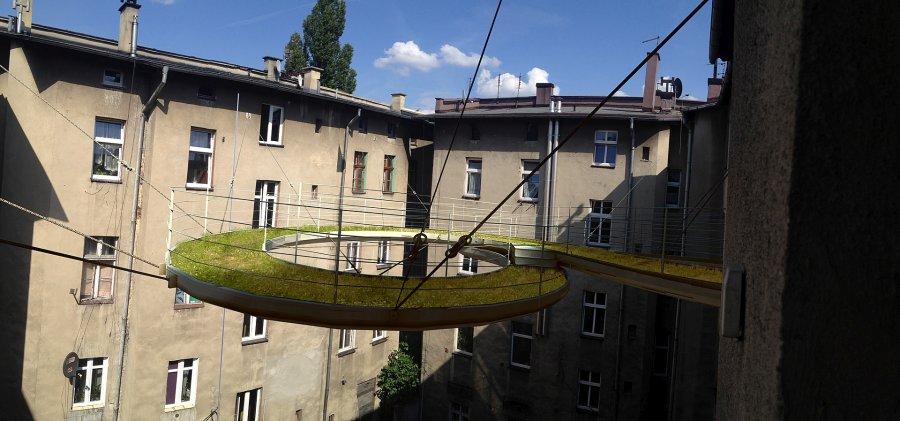 Więcej zieleni w mieście – balkon Walk-on