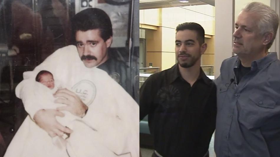 25 lat temu policjant Michael Buelna znalazł noworodka na śmietniku. Po latach spotkali się ponownie