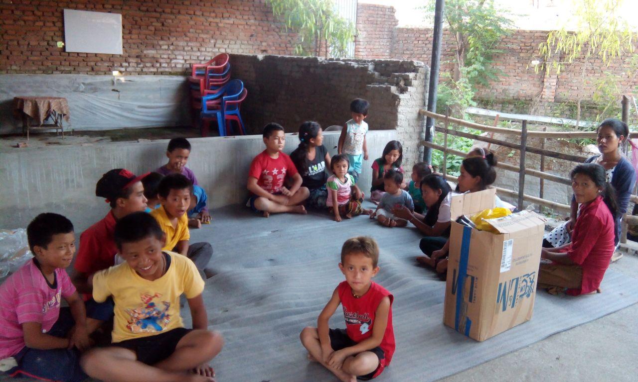 Szkoła dla dzieci w Nepalu