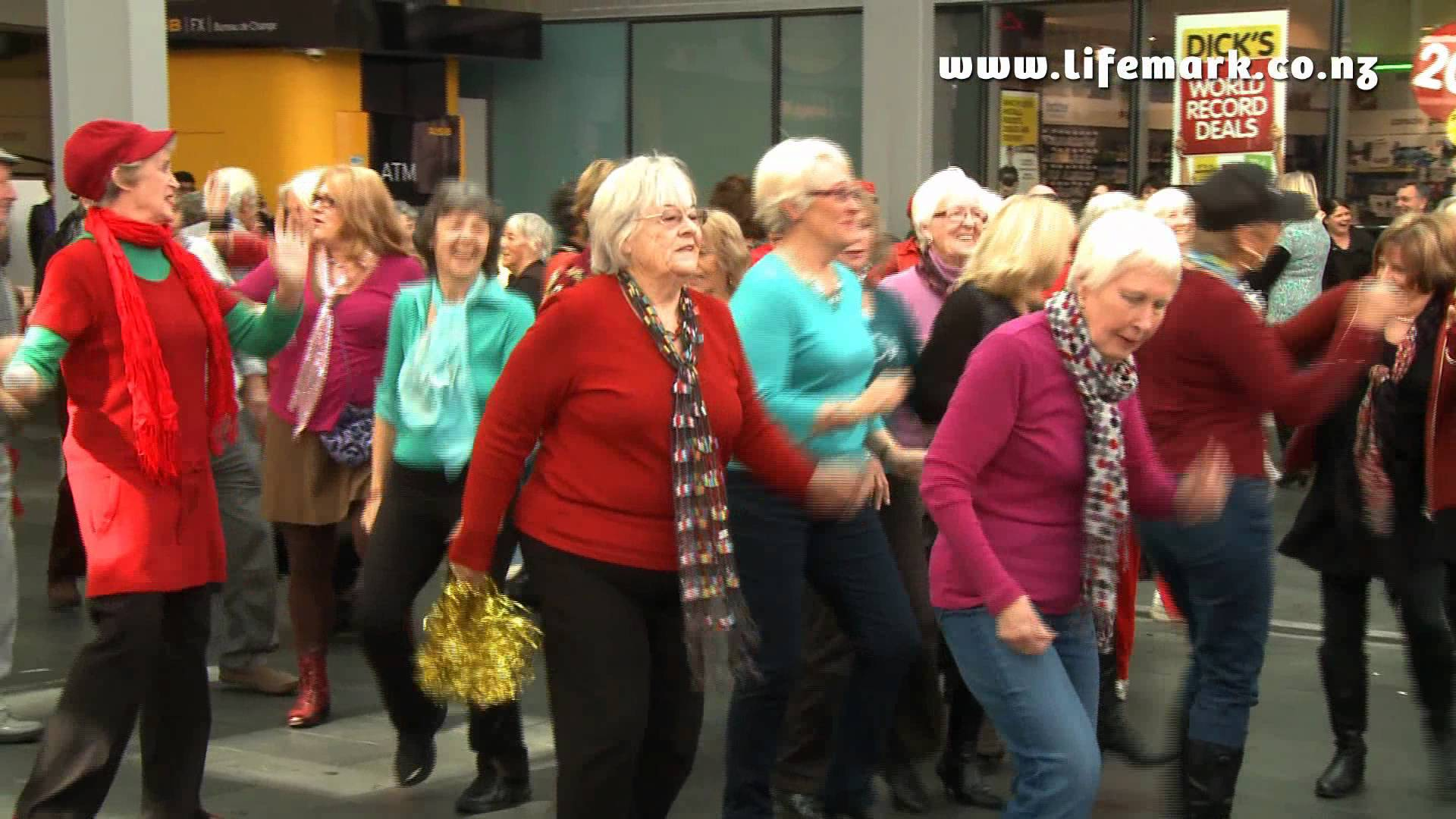 Najstarszy flashmob świata