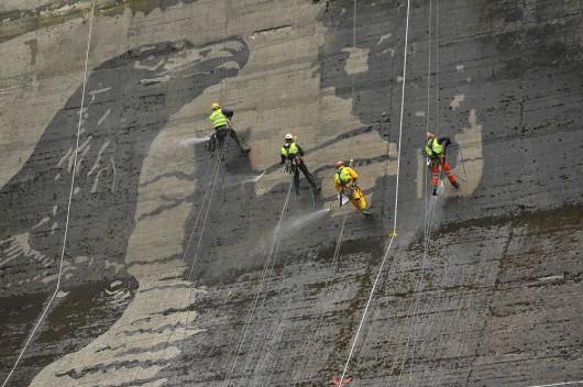 Największy na świecie eko mural powstaje w Solinie