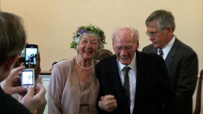 Sekretne listy miłosne połączyły parę po 63 latach