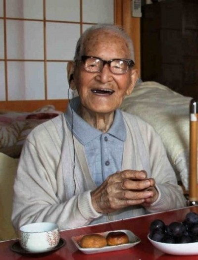 Jiroemon Kimura: najstarszy  człowiek na świecie kończy 115 lat