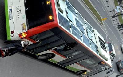 Autobusy częściowo zasilane energią słoneczną jeżdżą już po Lublinie