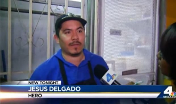 Kucharz pracujący w budce z meksykańskim jedzeniem udaremnił porwanie czteroletniego chłopca
