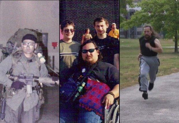 """""""Nigdy się nie poddawaj!"""" Amerykański weteran skazany na wózek dzięki jodze znów może biegać"""