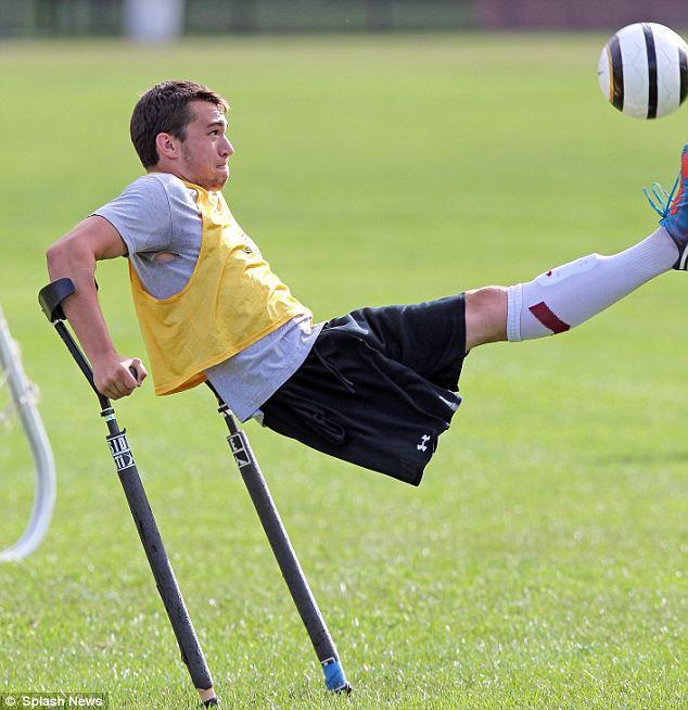 Nico Calabria – niesamowity piłkarz bez nogi