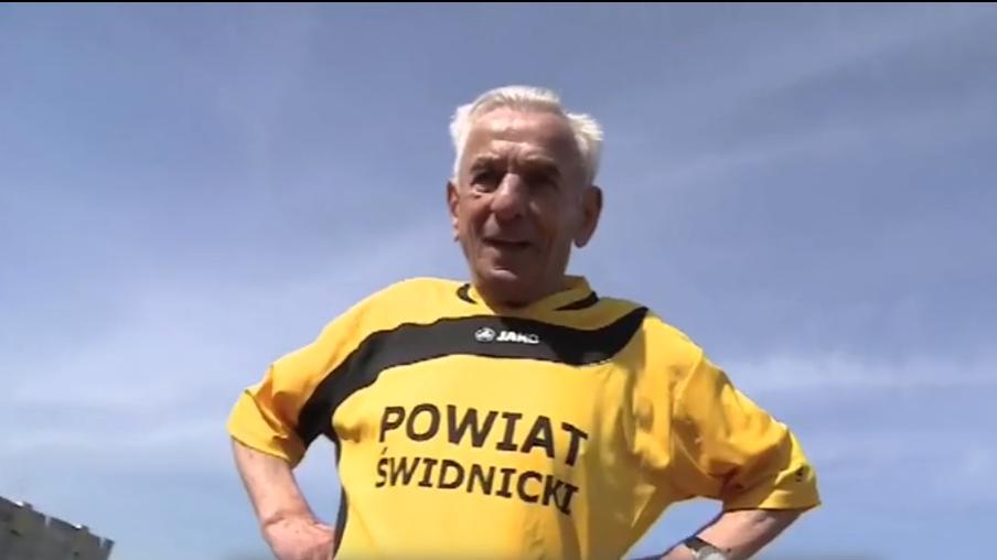 104-letni sprinter ze Świdnicy spróbuje pobić rekord świata w biegu na 100 metrów