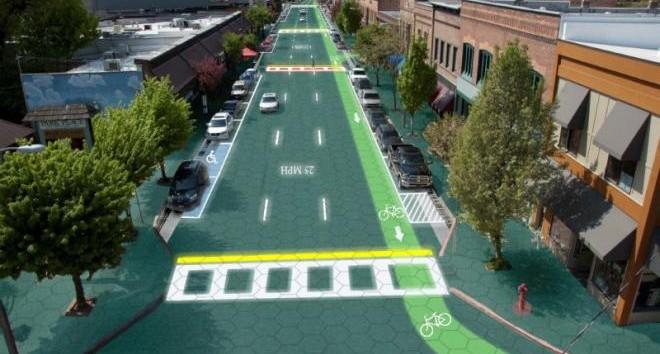 Solarna droga – małżeństwo inżynierów zebrało od internautów zachwyconych ideą ponad 1,3 mln dol