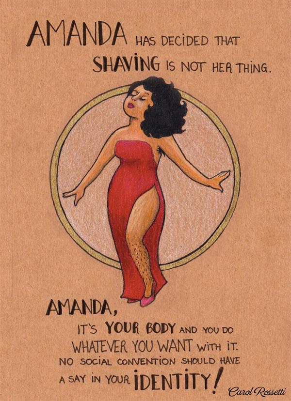 10 wzmacniających ilustracji, które przypominają, do kogo naprawdę należy ciało kobiety