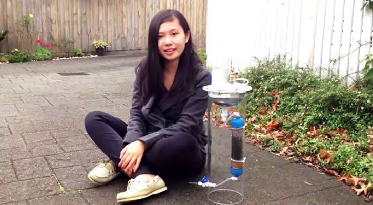 Nastolatka wymyśliła przyrząd do produkcji czystej energii i wody