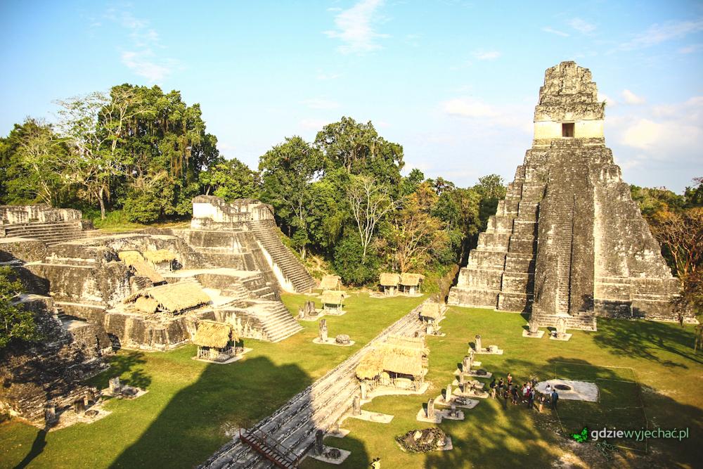 Tikal w Gwatemali. Niesamowite miasto Majów