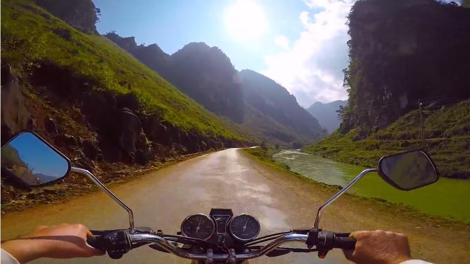 Motocyklem przez Azję