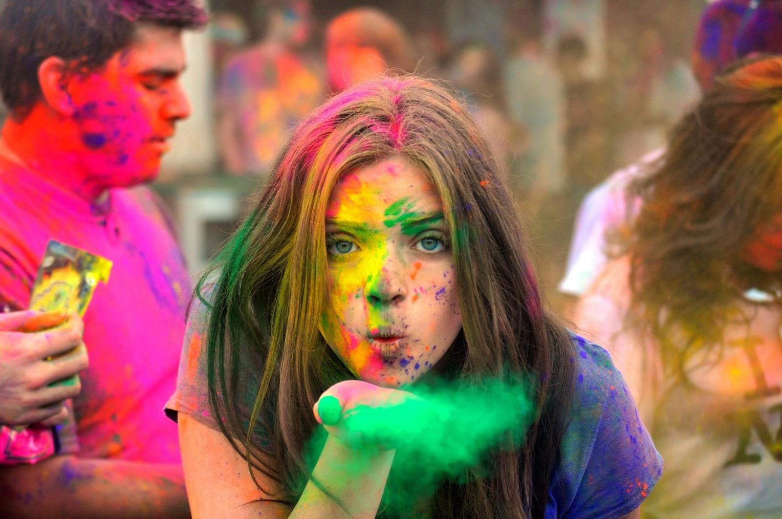 Holi – święto wiosny i kolorów w Indiach