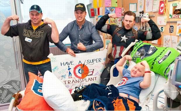 Prawdziwi bohaterowie w szpitalu dziecięcym