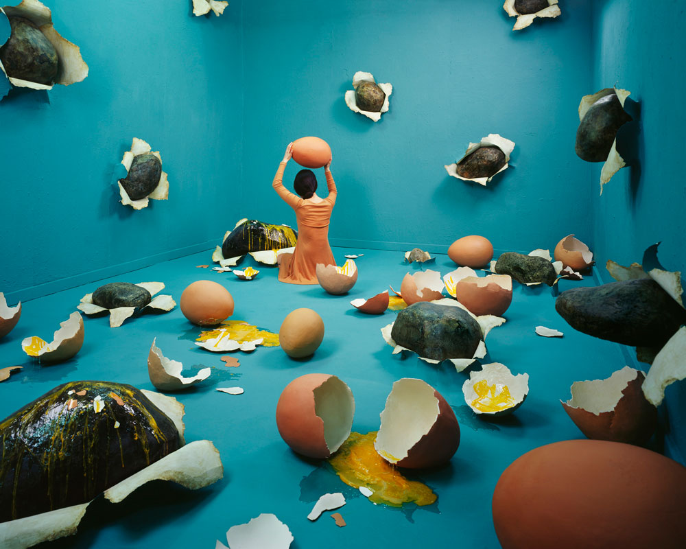 Artystka projektuje wnętrza w oparciu o marzenia senne