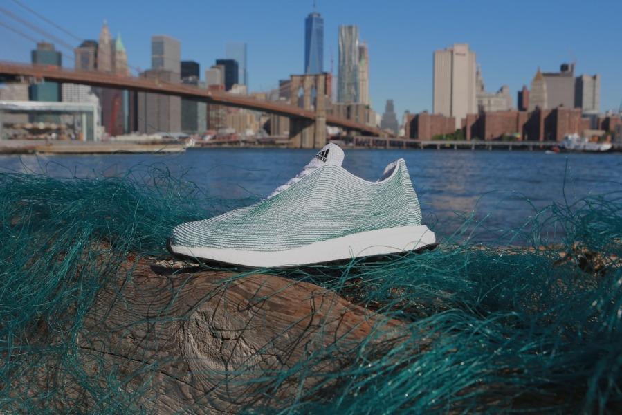 Adidasy z oceanicznych śmieci
